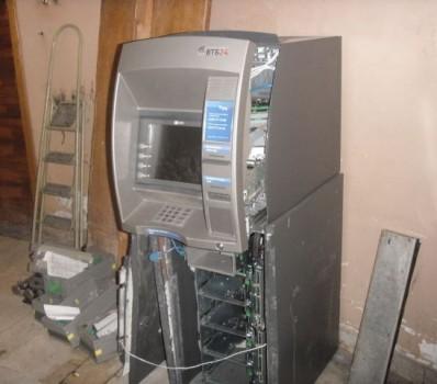 Wnętrze bankomatu