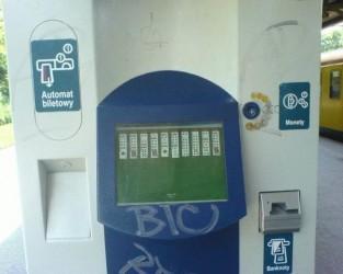 SKM automat biletowy (hacked)