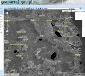 Geoportal - tajne bazy wojskowe