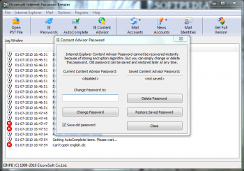 Elcomsoft Internet Password Breaker