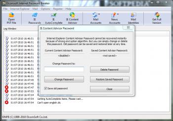 Elcomsoft Internet Password Breaker