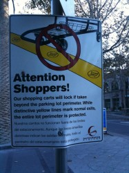 Złodzieje supermarketowych wózków