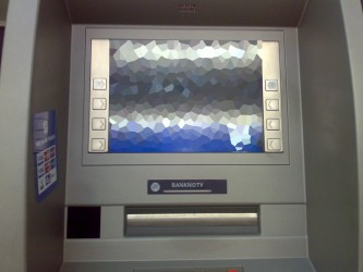 Bankomat po restarcie