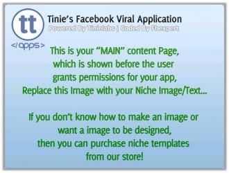 Facebook TinieApp