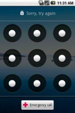 Zablokowany ekran - Android