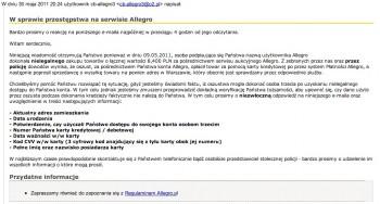 Allegro Phishing