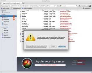 FakeAV Mac OS X