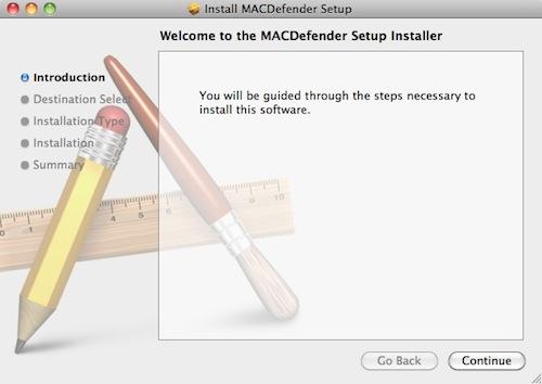 MACDefender - Mac OS X Malware