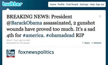 Fox Obama Dead