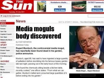 The Sun i Murdoch hacked
