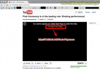 Facebook Virus youtube