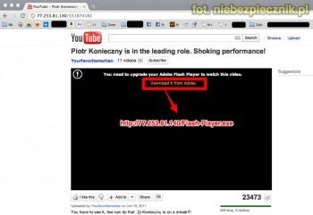 Facebook Virus youtube
