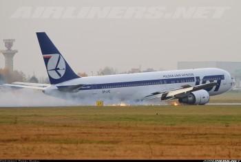 Paweł Guraj. Awaryjne lądowanie Boeinga 767 PLL LOT