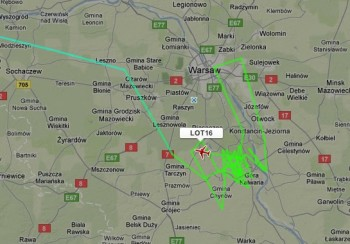 Flightradar24.com SP-LPC