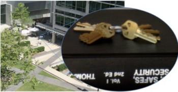 Foto atak na klucze