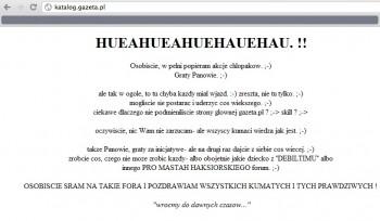 katalog.gazeta.pl - druga podmiana strony