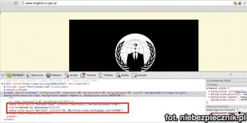 mogilno.sr.gov.pl hacked by anonymous poland