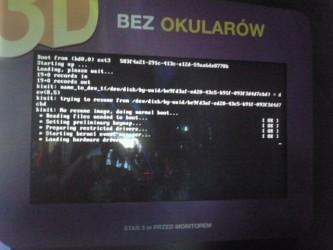 Linux Bootscreen 3D