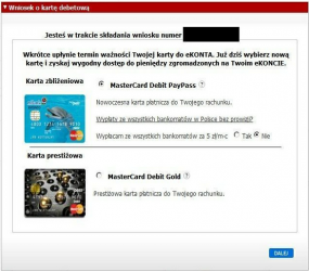 karta płatnicza mBanku