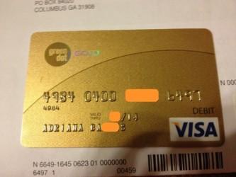 Karta kredytowa - zdjęcie z Twittera