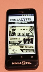 ninja phone