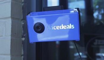 Facedeals - kamera