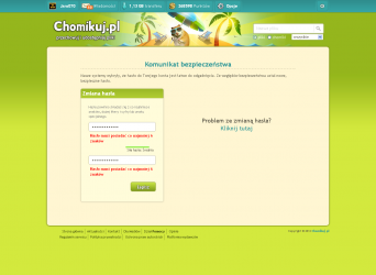 chomikuj.pl zmiana hasła