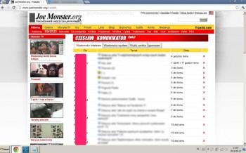Joemonster hacked - czesiek