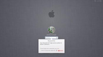 Reset hasła logowania przez hasło AppleID
