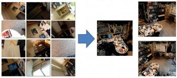 PlaceRaider - przykładowa rekonstrukcja w 3D