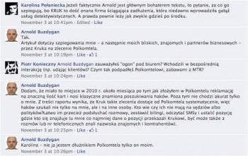 Arnold Buzdygan, KRUK, Plus GSM