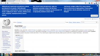 Wikipedia wpłaty