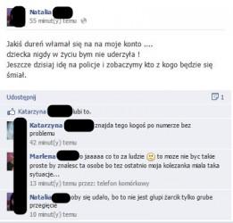 Ofiara ataków na Facebooku