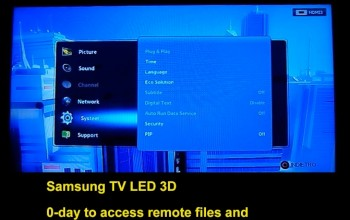 Samsung TV hacked