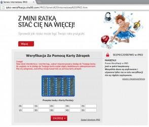 Serwis internetowy iPKO
