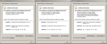 Nokia Xpress Browser Fake SSL Certificate
