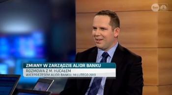 Alior Bank - Michał Hucał