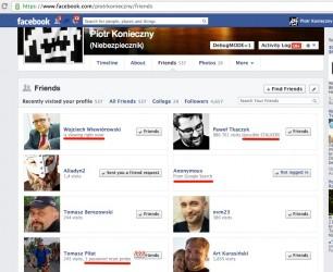 Kto odwiedzał mój profil na Facebooku?