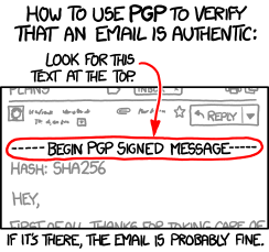 XKCD PGP