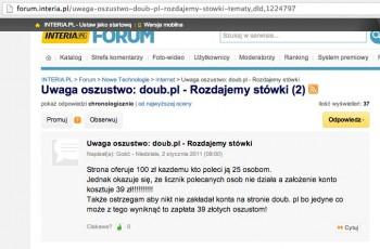 Uwaga oszustwo_ doub.pl
