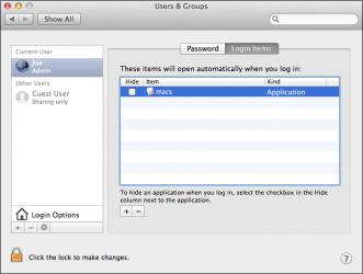 Mac OS X trojan