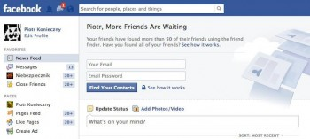 Cwany social engineering Facebooka wyłudzający podanie loginu i hasła do skrzynki pocztowej