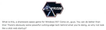 Oryginalne Logo PRISM NSA
