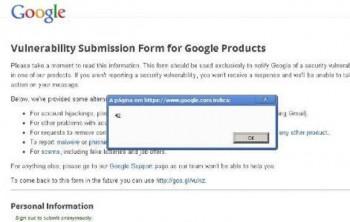 Google XSS Vulnerability Program
