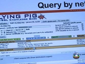 Flying PIG - ujawniony przez brazylijskie media (już miesiąc temu) interface do wyszukiwania i rekonesansu autorstwa NSA