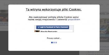 """Wyłuczanie nazwy miasta przez potwierdzenie """"cookies"""""""