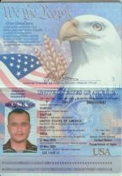 Jeden z wykradzionych skanów paszportu