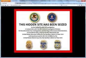 Silk Road - przejęte przez FBI