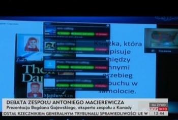 Atak na telekonferencje Macierewicza na Skype