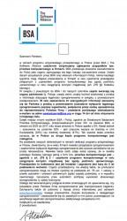 E-mail od BSA